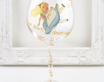Alice Through The Wine Glass
