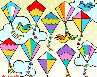 Kite Clip Art - personal and commercial use