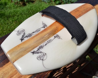 Handplane with Agave wood stringer