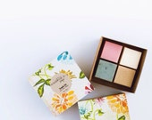 Soap Sample Set - 4 mini soaps gift set- Handmade soap,Vegan soap, Natural, Gift Set