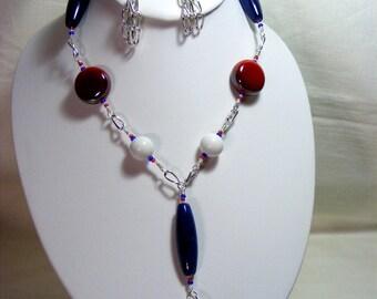 Patriotic Jewellery Set