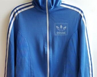 70s Adidas Track Jacket   Vintage Adidas   Vintage Track Jacket   Vintage Warm Up Jacket   1970s Team Jacket