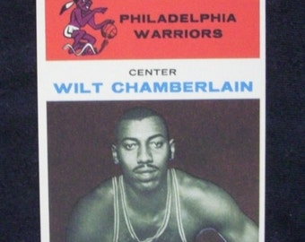 1961/62 Fleer Basketball #8 Wilt Chamberlain  [Philadelphia Warriors] (RC)  RP