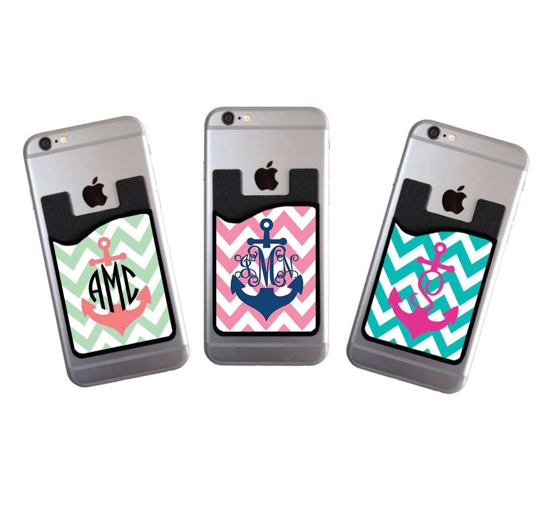 Gifts for her monogrammed personalized phone card caddy for Engravable gifts for her