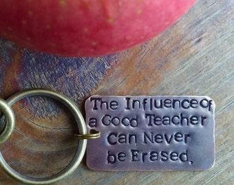 Personalized Teachers Gift Key Chain.Teacher Appreciation.Best Teacher.Number One Teacher.Inspirational.Mentor Gift.Got Keys.Cool.Unique.Hip