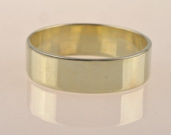 14 ct recycled gold wedding ring