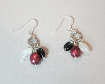 Winter Berries Drop Earrings