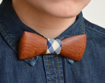 Exotic Wooden Bow Tie - Lacewood     Wood Bow Ties Mens Bow Ties Groomsmen Gifts Bowties