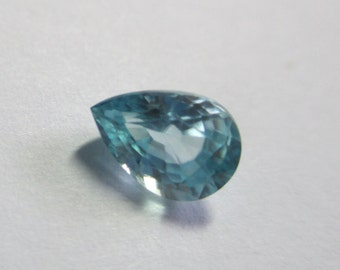 Natural Blue Zircon from Cambodia 1.06ct