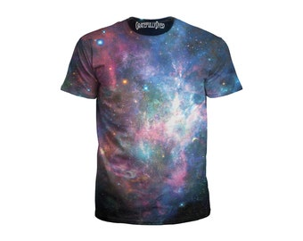 Best Festival Clothing - Space T-Shirt - Galaxy Clothing - Psychedelic Shirt - Trippy Art - Rave Wear