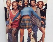 "Empire Records VHS Tape Movie - Starring Liv Tyler Renee Zellweger & Debi Mazar 1995/1996 Copyrights "" Killer Soundtrack Movie "" Rated PG-13"