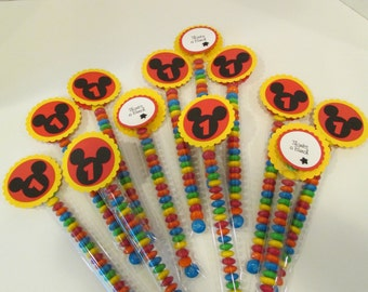 Mickey Mouse M&M Candies Party Favors set of 12