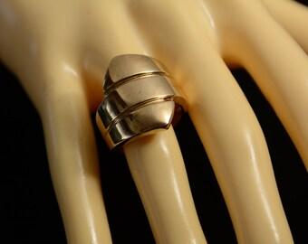 Sterling Silver Modernist Ring (8)