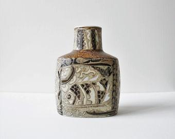 Vintage Royal Copenhagen Fajance Nils Thorsson Baca Vase / Danish Pottery