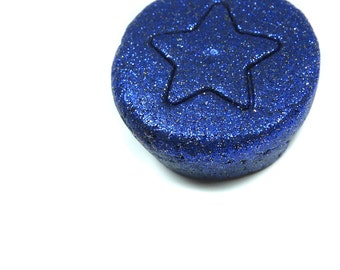 Handmade Child's Space Dough with Glitter