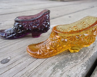 Fenton Glass Slippers