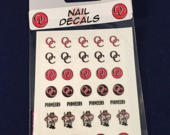 OC Nail Decals
