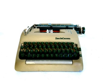 MidCentury Smith Corona Silent-Super Manual Typewriter