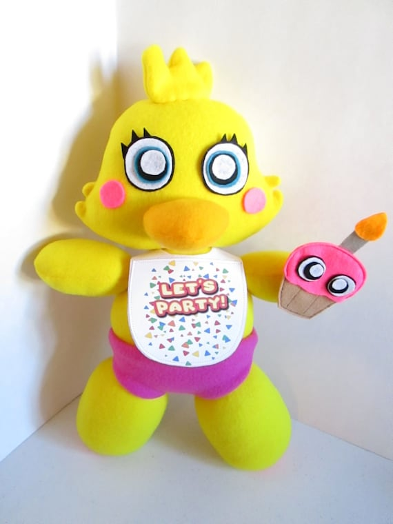 Toy chica plush inspired by fnaf five nights at freddy s unofficial