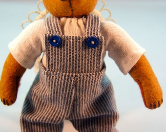 Small Felt Stuffed Bear