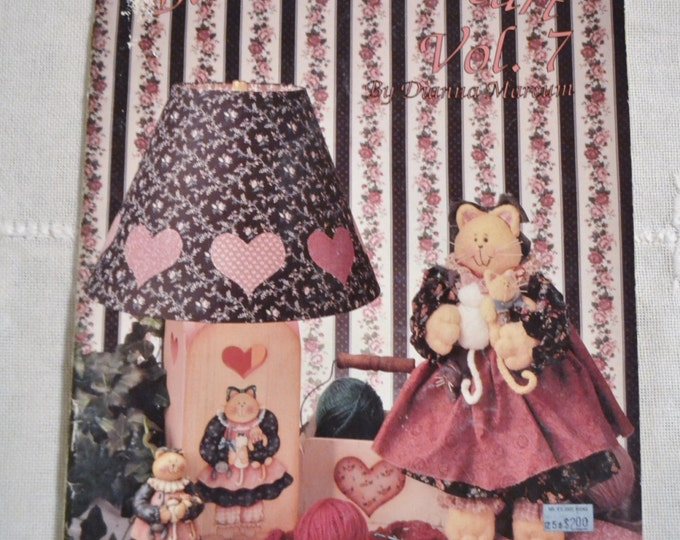 Bless Your Heart Vol 7 Dianna Marcum Craft Painting Designs Patterns Vintage Instructions DIY Panchosporch