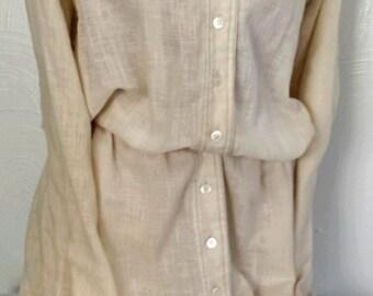 Vintage Anne Klein embroidered dress