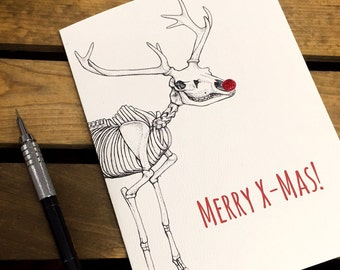 Geeky christmas card | Etsy