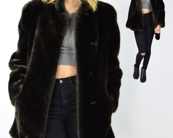 Mink fur coat | Etsy