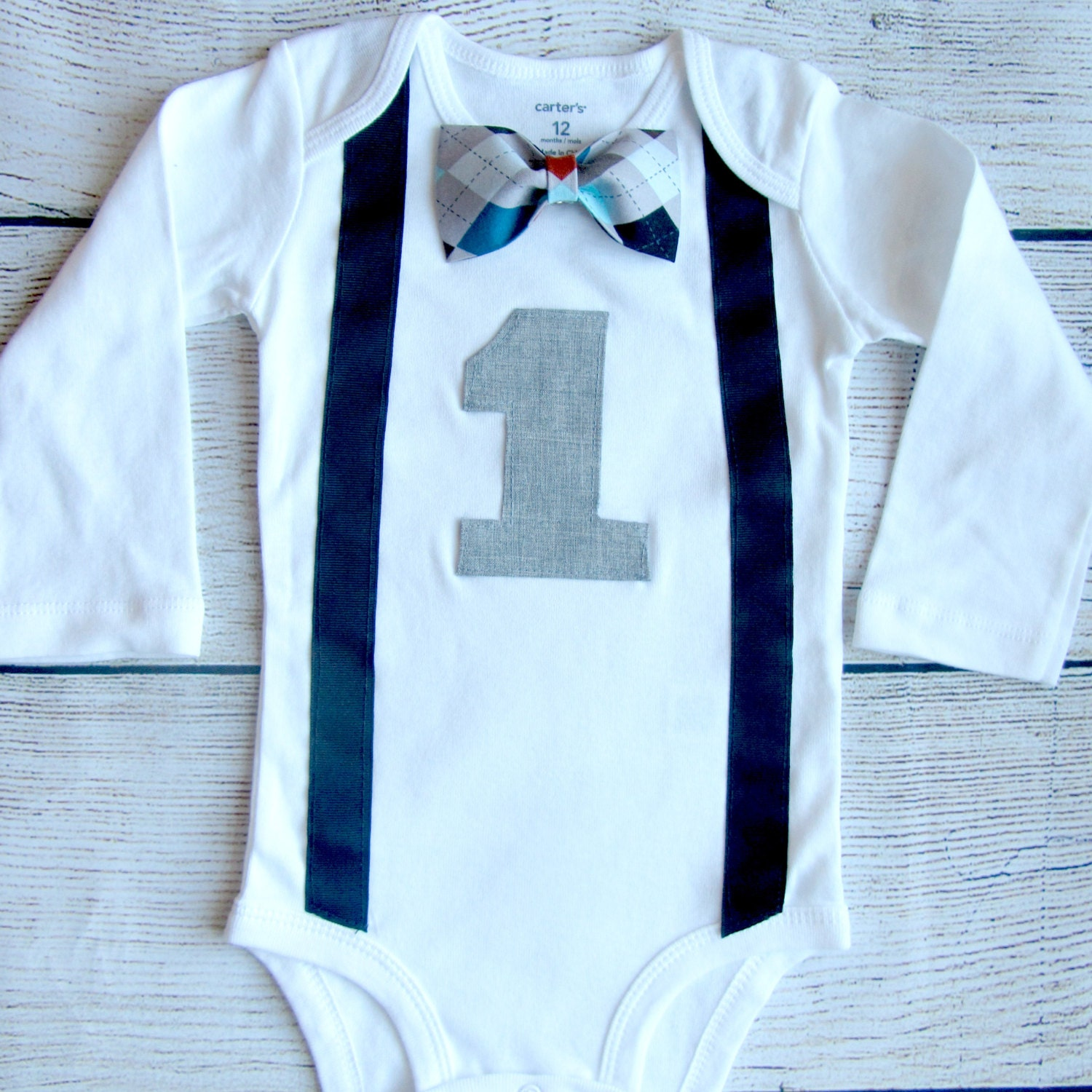 Boys First Birthday Outfit Baby Boy Clothes By SewLovedBaby