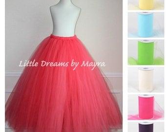 Floor Length Adult Tutu Available In 35colors Teen Skirt Short