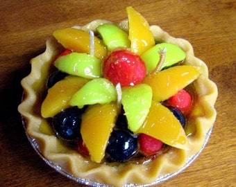Fruit Pie Candles that look and smell amazing!! 5""