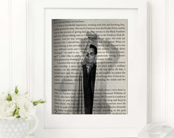 Literature Poster - Literature Print - Book Art Print - Reading Art - Literature Poster - Gift for a writer and book lover