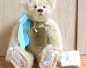 """Reserved for Susan - Freddie by Sue Foskey - Handcrafted Vintage Artist Bear - 10"""" Jointed - Nostalgic Bear Co. - 1989 - Mohair Teddy Bear"""