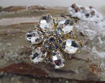 Wedding hair accessory,   wedding brooch,  hair clip, bridal head piece, bridal rhinestone hair clip, head piece,