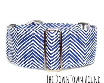 Boy Dog Collar, Hipster Dog Collar, Modern Martingale Collar, Contemporary Design, Small Puppy to Extra Large Dogs