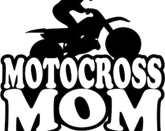 Boy Rider Motocross Mom Hoodie Sweatshirt Many Colors