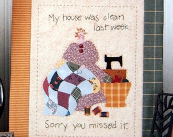 Come What May By Nancy Halvorsen And Art To Heart Applique Quilting And Embroidery Pattern Packet 2001