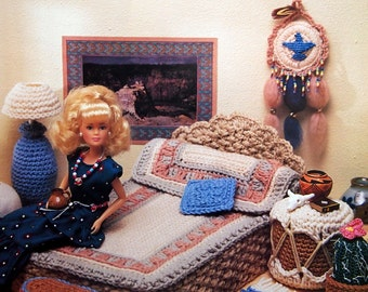 Desert Dreams By Annie's Fashion Doll Home Decor And Annie's Attic Vintage Crochet Pattern Booklet 1994