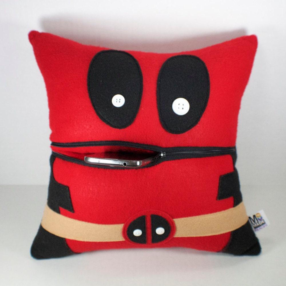 Deadpool Pillow Home Decor-Throw Pillow-Travel