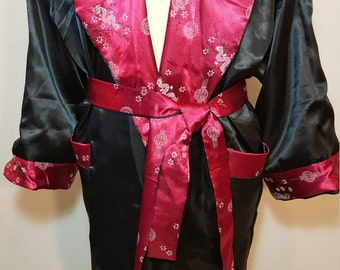 FREE SHIPPING  Vintage 1960 Men Asian Robe