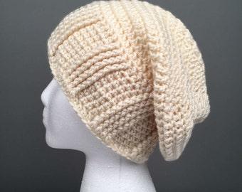 WOMEN'S IZZY Slouchy Hat, Women's Hat, Women's Slouchy Beanie, Women's Accessories, Crochet Slouchy Hat, Crochet Beanie, Hat for Women.