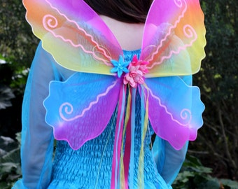 Adult Fairy Wings  ~ Halloween ~ Steampunk Costume ~ Fairy ~ Butterfly ~ Cosplay ~ Tinkerbell ~ Party ~ Theatre