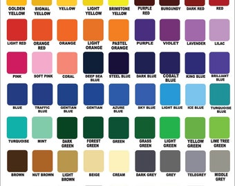 """Oracal 651 - 12"""" x 5' - Roll of Outdoor Glossy Vinyl - Decal - Adhesive Craft - Hobby - Sign Maker - Cricut - Silhouette - Craft Projects"""