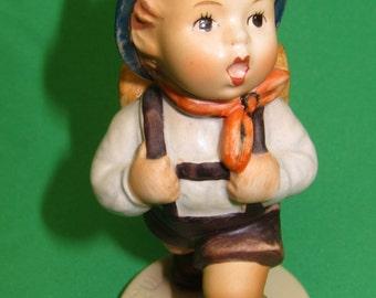 "Hummel Figurine ""School Boy"" 82 2/0 TMK 3SS  4.5 INCH"