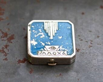 Art Deco Eye Shadow Box - Antique Make Up
