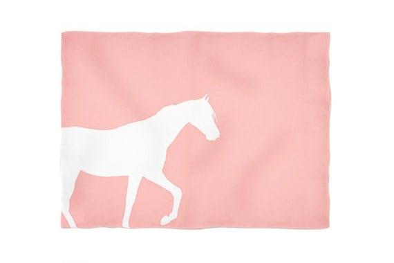 "Horse Throw Blanket Horse Blanket Home Decor Horse Lover Gift Horse Christmas Gift 50""X60"" READY TO Ship Christmas Gift"