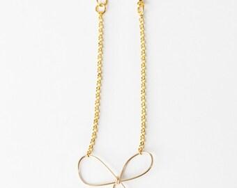 Bow Bracelet (Gold)