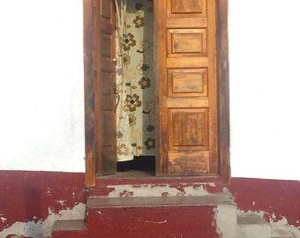 Mexican Door- Digital Photography, Rustic Door, Mexico Photography, Rustic Decor, Mexico Travel Photography, Mexico Decor, Mexico Art, Door