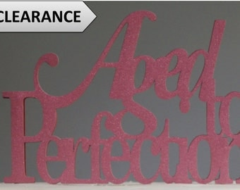 Rouge Red Aged-to-perfection Cake Topper, 1pc