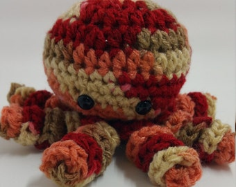 Crochet Plush Octopus, Octopus Toy, Octopus Crochet Plush, Octopus Toy, Octopus Stuffed Animal, Stuffed Crochet Octopus